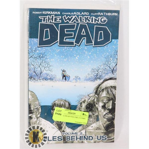 WALKING DEAD VOLUME 2 COMIC BOOK