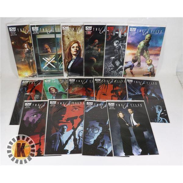 THE X FILES COMIC BOOK PACK OF 15 SEASON 10