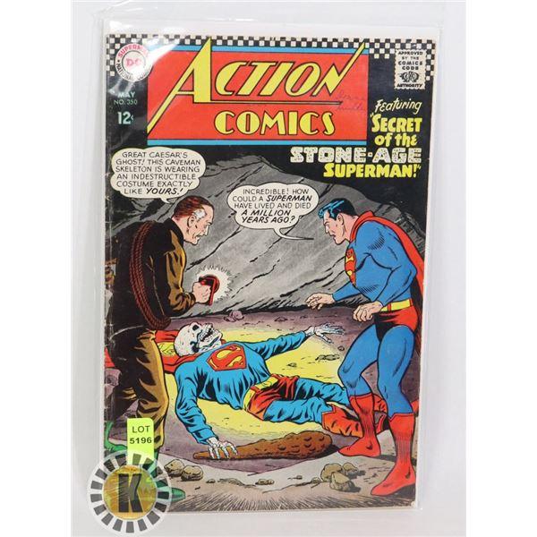 """DC COMICS """"SECRETE OF THE STONE-AGE SUPERMAN"""""""