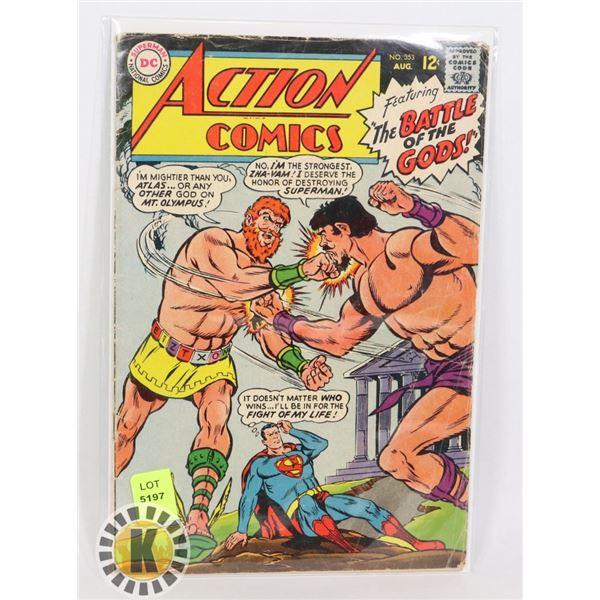 "DC COMICS ""THE BATTLE OF THE GODS!"""