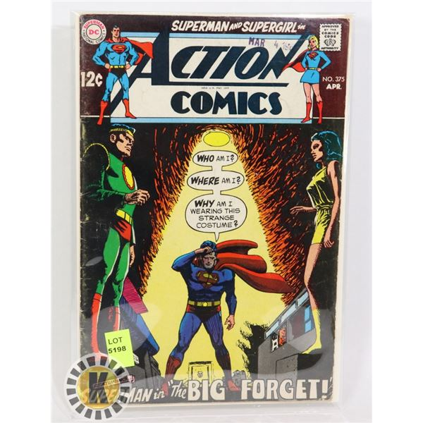 """DC COMICS """"SUPERMAN IN THE BIG FORGET"""""""