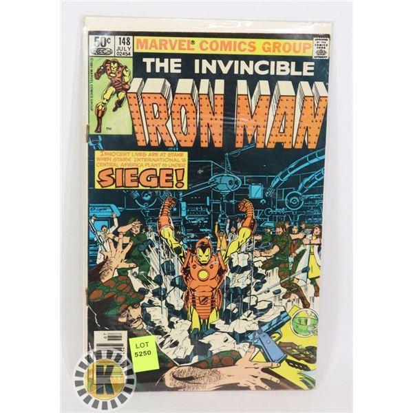 "MARVEL COMICS THE INVINCIBLE IRON MAN ""SIEGE!"""