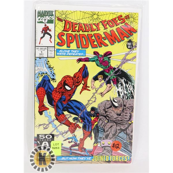 """MARVEL COMICS """"THE DEADLY FOES OF SPIDERMAN"""""""