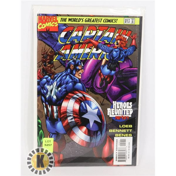 MARVEL COMICS CAPTAIN AMERICA