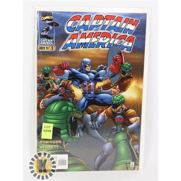 MARVEL COMICS CAPTAIN AMERICA JULY 97 #9