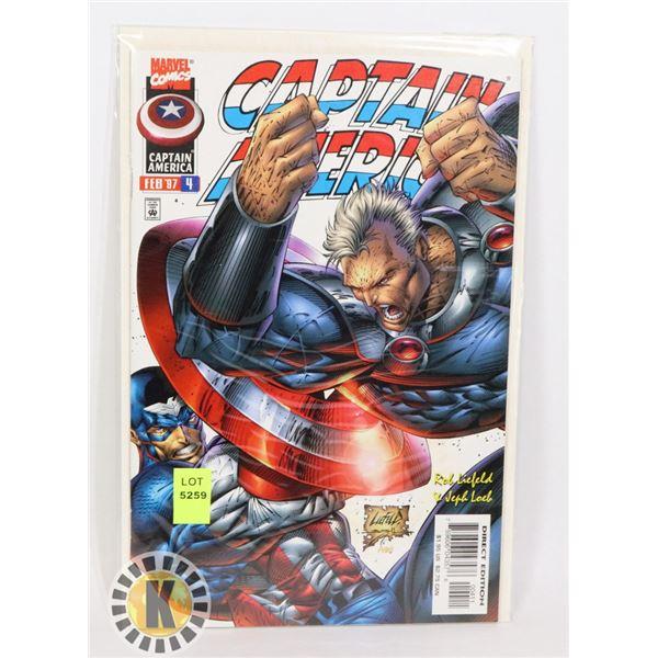 MARVEL COMICS CAPTAIN AMERICA JULY 97 #4