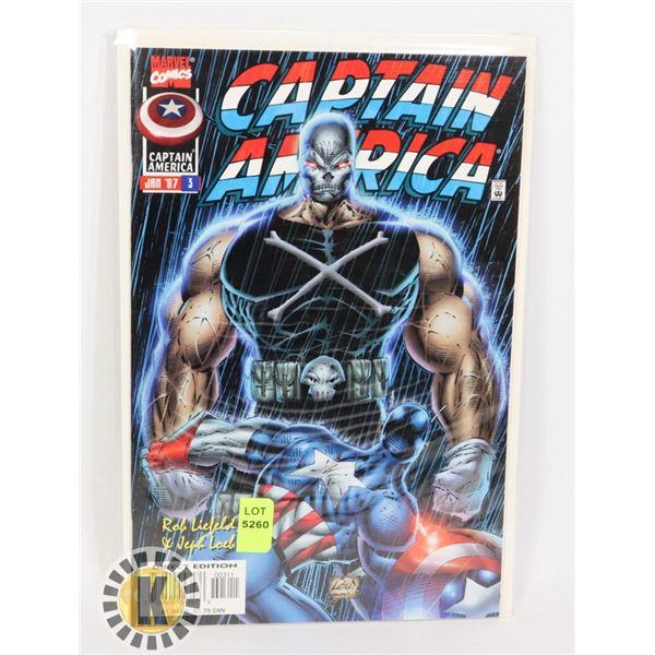 MARVEL COMICS CAPTAIN AMERICA JULY 97 #3