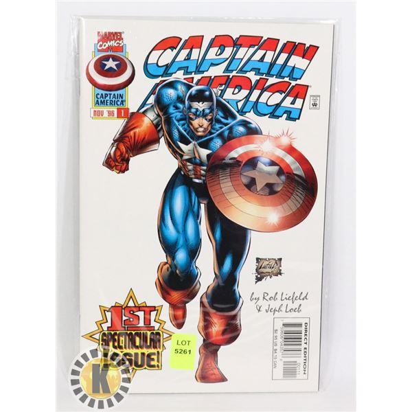 MARVEL COMICS CAPTAIN AMERICA JULY 97 #1