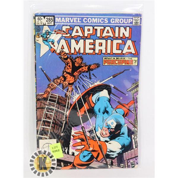 "MARVEL COMICS CAPTAIN AMERICA "" PORCUPINE"""