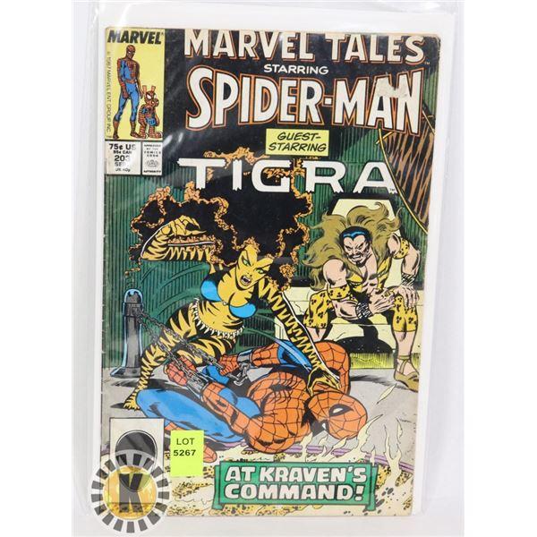 "MARVEL TALES SPIDERMAN ""GUEST STARRING TIGRA"""