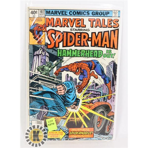 """MARVEL TALES SPIDERMAN """"HAMMERHEAD IS OUT!"""""""