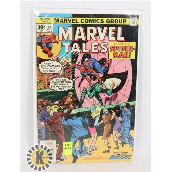 "MARVEL TALES SPIDERMAN ""THE MAN CALLED BULLIT"""