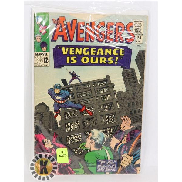 """THE AVENGERS """"VENGEANCE IS OURS"""""""