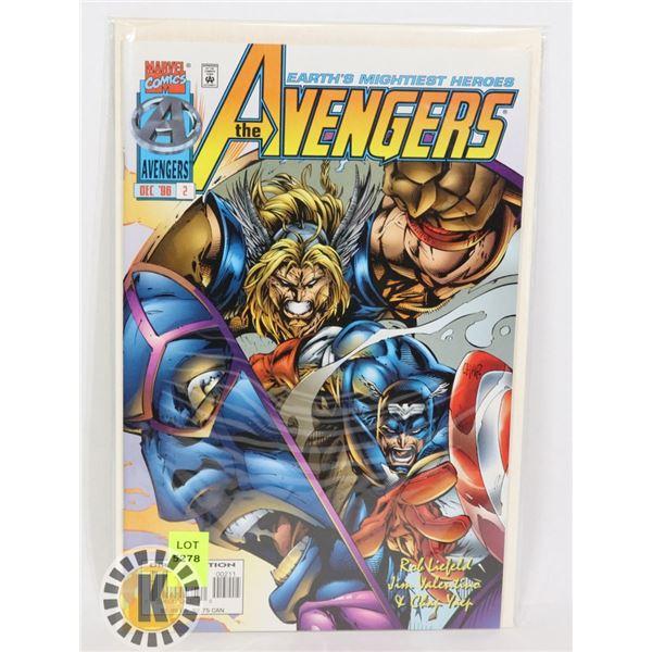 THE AVENGERS DEC '96 #2