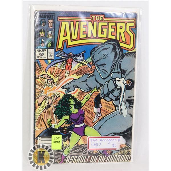 THE AVENGERS #286 1987