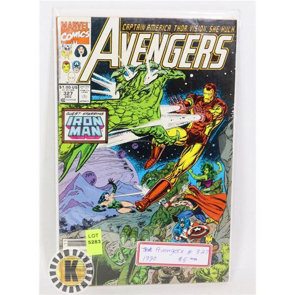 MARVEL COMICS AVENGERS #327 1990
