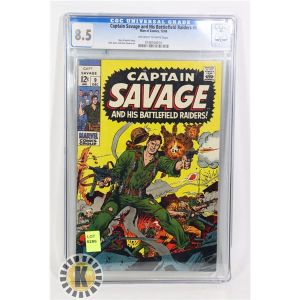 CAPTAIN SAVAGE AND HIS BATTLE FIELD RAIDERS