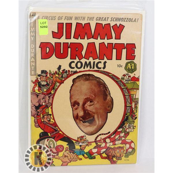 JIMMY DURANTE COMICS