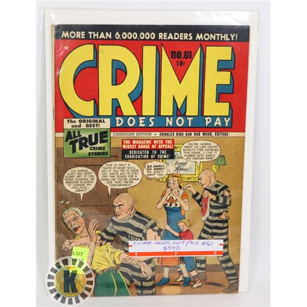 CRIME DOES NOT PAY #61