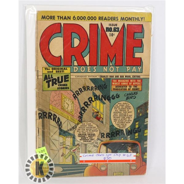 CRIME DOES NOT PAY #63