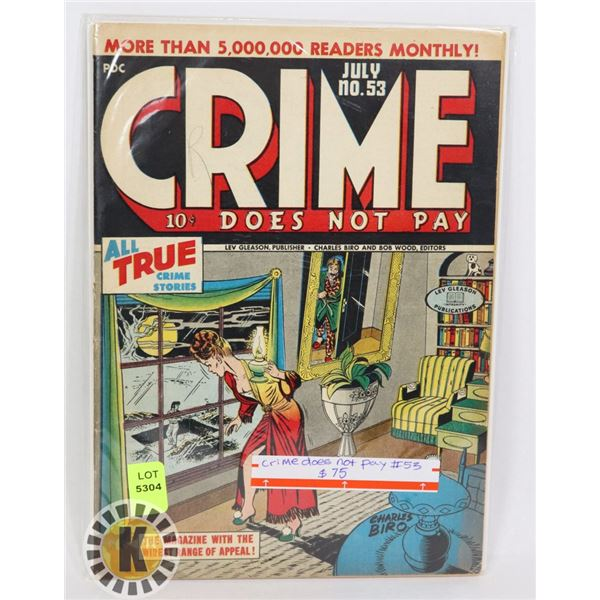 CRIME DOES NOT PAY #53
