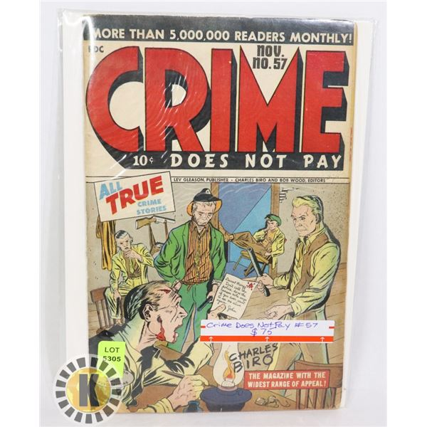 CRIME DOES NOT PAY #57