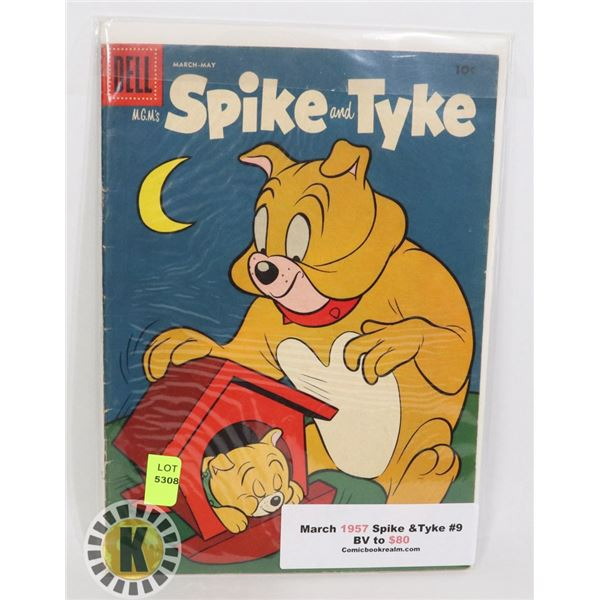 MARCH 1957 SPIKE AND TYKE #9