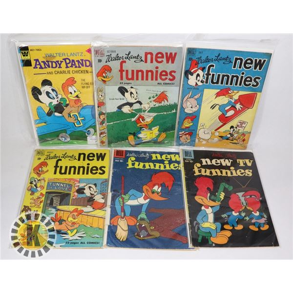 DELL COLLECTION OF WALTER LAUTZ NEW TV FUNNIES