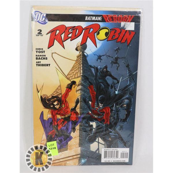 DC COMICS RED ROBIN #2 SEPT 09
