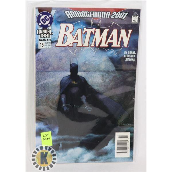 DC COMICS ANNUAL 1991 BATMAN @15