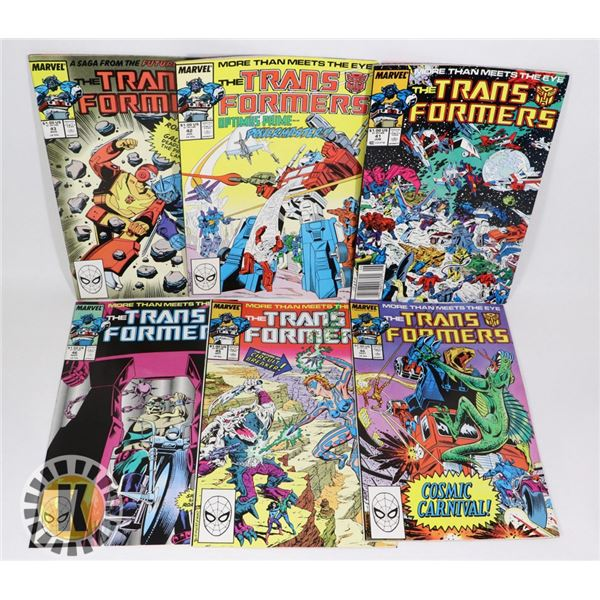 MARVEL COMICS THE TRANSFORMERS  #41-46