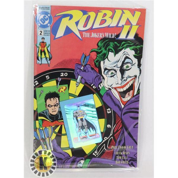 "DC COMICS ROBIN II ""THE JOKER'S WILD"" #2"