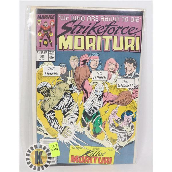 MARVEL COMICS MORITURI
