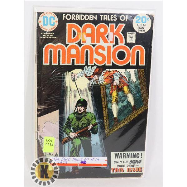 DC COMICS THE DARK MANSION #14 1973