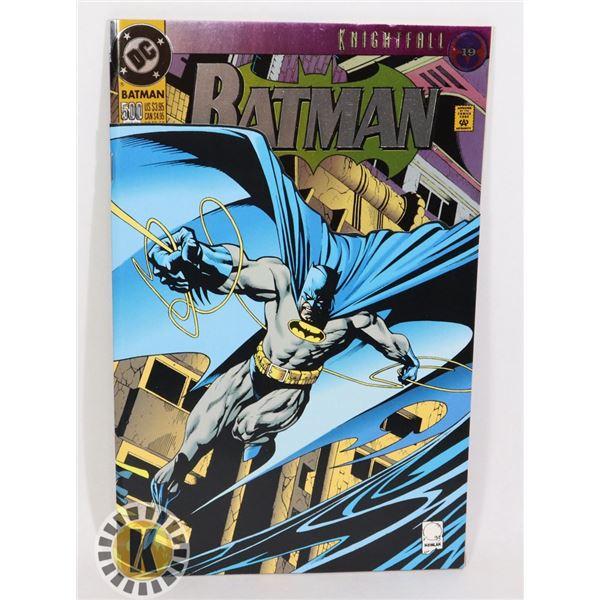 DC COMICS KNIGHTFALL BATMAN #500
