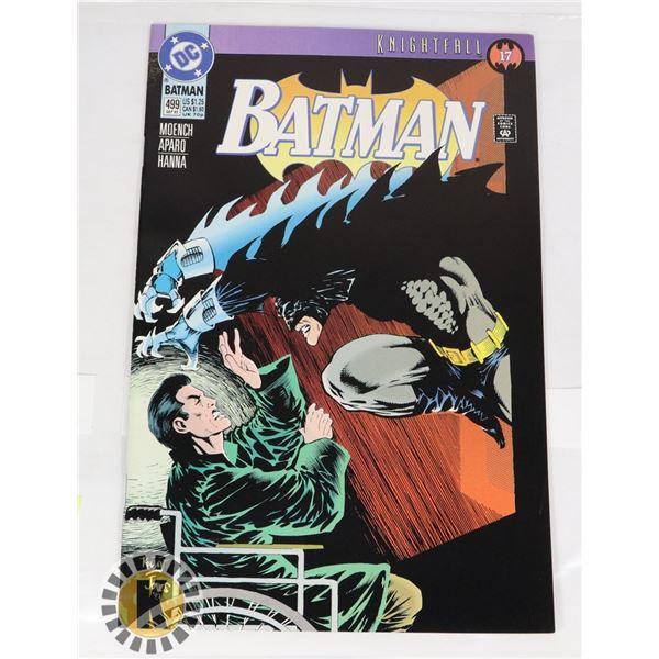 DC COMICS KNIGHTFALL BATMAN #499