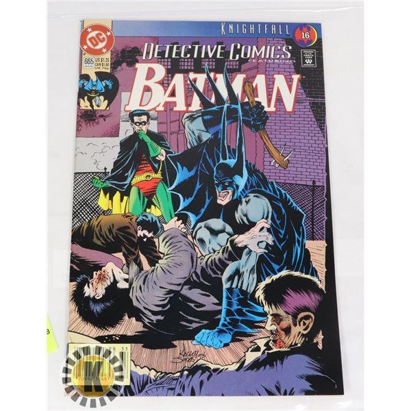 DC COMICS KNIGHTFALL BATMAN  #655