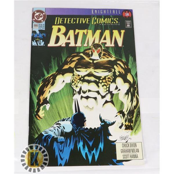 DC COMICS KNIGHTFALL BATMAN  #666