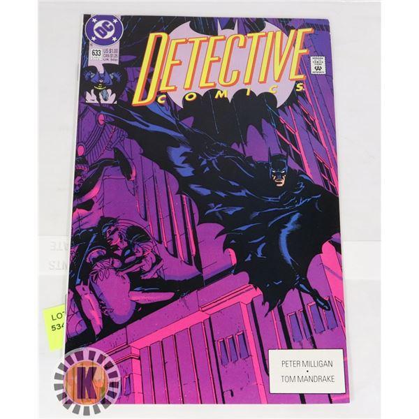 DC DETECTIVE COMIC