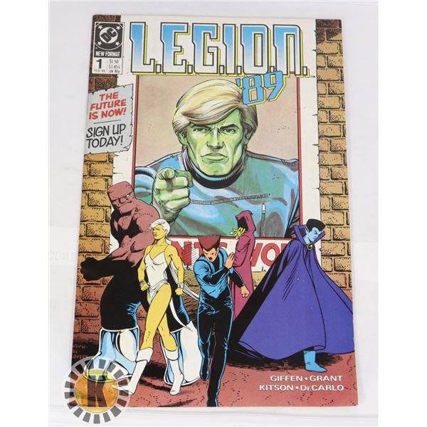 DC COMICS LEGION '89