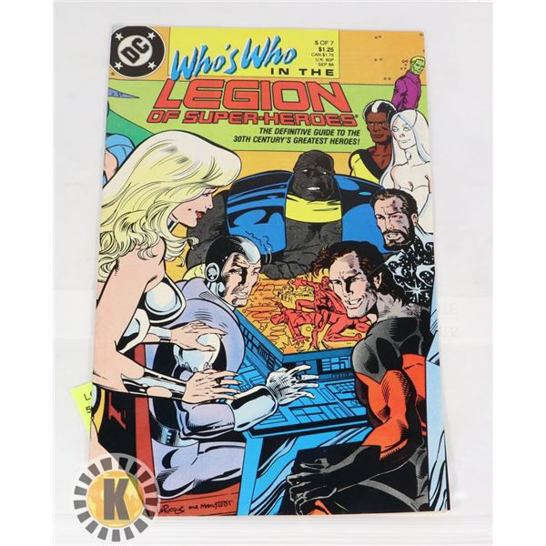 DC LEGION OF SUPER HEROES 5 OF 7