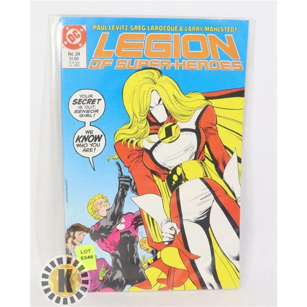 DC COMICS THE LEGION OF SUPER HEROES #24