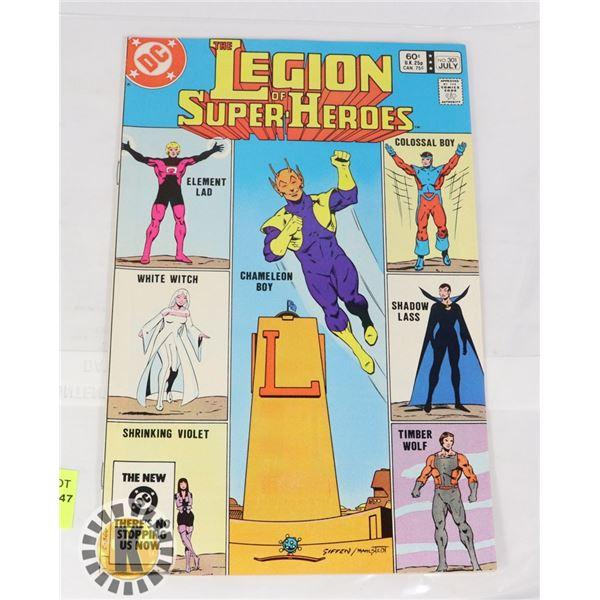DC COMICS THE LEGION OF SUPER HEROES #301