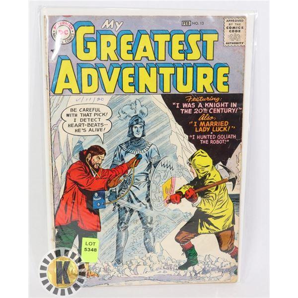 DC COMICS MY GREATEST ADVENTURES #13
