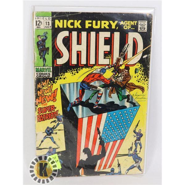 NICK FURY AGENT OF SHIELD #13 JULY