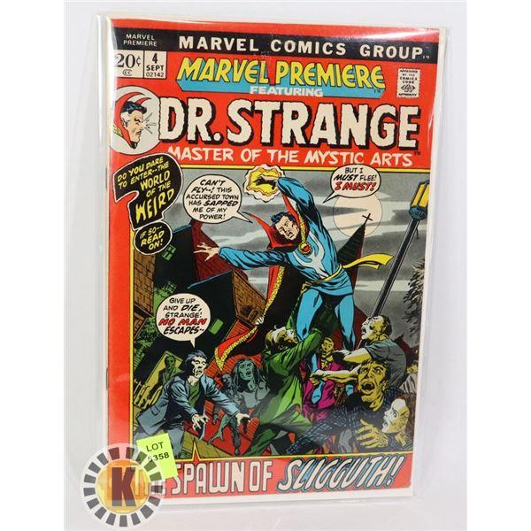 MARVEL COMICS DR.STRANGE  #4 SEPT