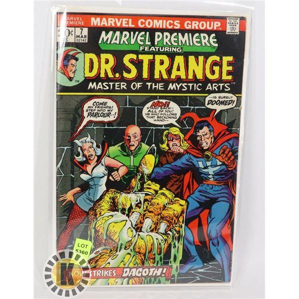 MARVEL COMICS DR.STRANGE  #7 MAR