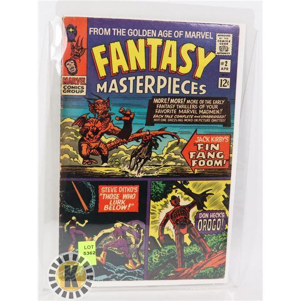 MARVEL COMICS GROUP FANTASY MASTER PIECES #2 APR