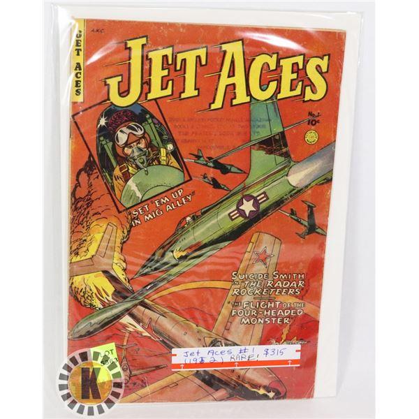 JET ACES #1 (1952)