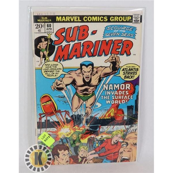 MARVEL COMICS SUB-MARINER #60 APR
